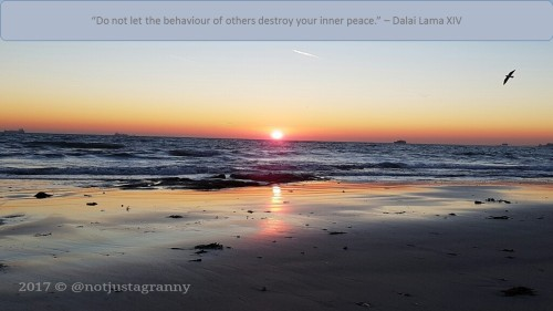 do not let the behaviour of others destroy your inner peace - dalai lama xiv