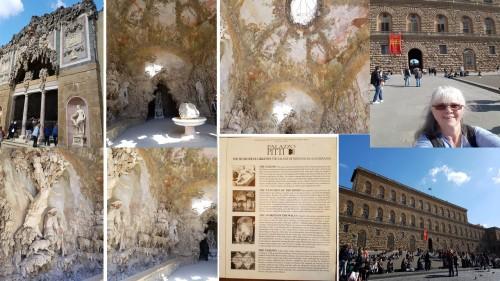 palazzo pitti Buontalenti grotto florence