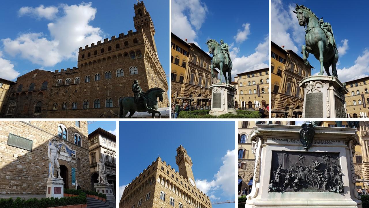 palazzo vecchio Piazza della Signoria in Florence