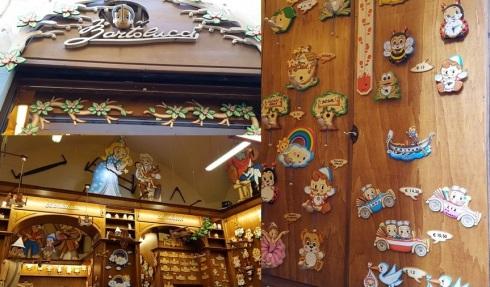 Pinocchio shop; Bartolucci