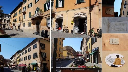 Piazza Cavelotti pisa italy