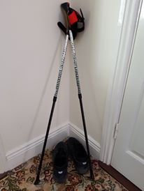 My Nordic walking poles