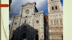 Cattedrale di Santa Maria del Fiore - the Virgin of the Flower. Florence, Itlay