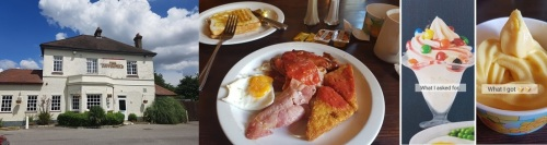 Full English at The Copperfield, Rochester Road, Gravesend...or thereabouts