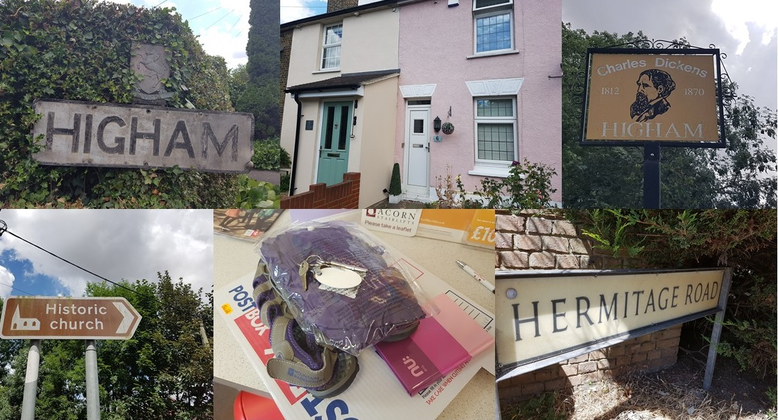 Higham. Domesday Village and once home to Charles Dickens