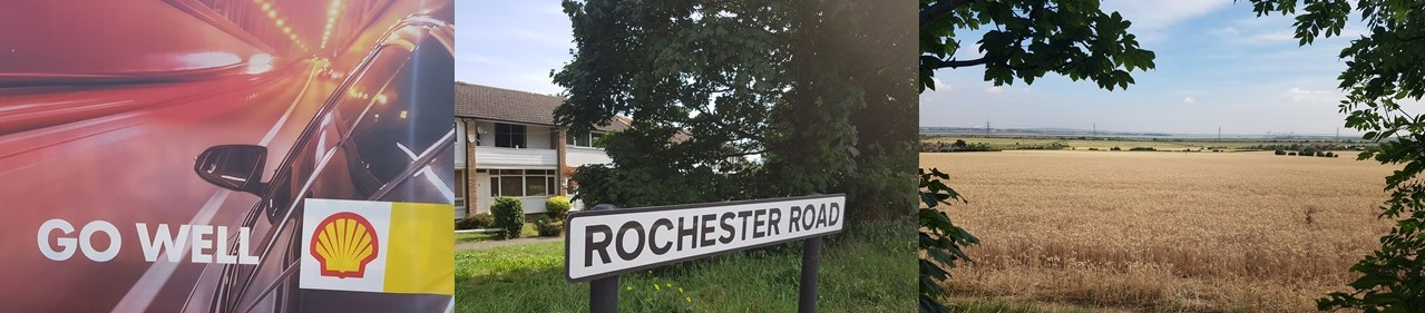 Rochester Road.....the landscape at least was beautiful