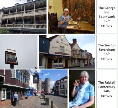 pilgrimage southwark to canterbury medieval inns