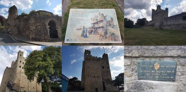 southwark to canterbury rochester castle