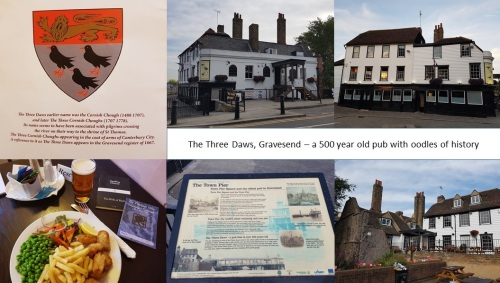 The Three Daws, Gravesend - oldest pub in the town