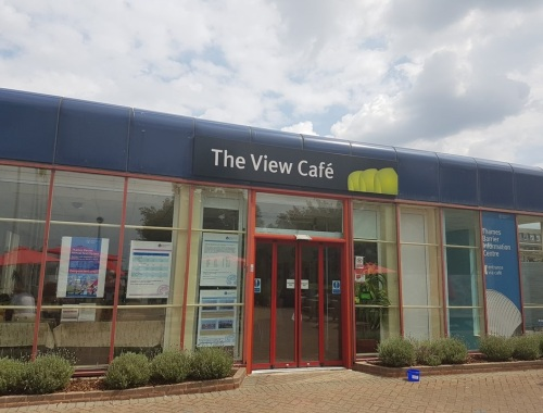 the view cafe thames barrier