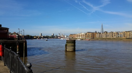 river thames view of london