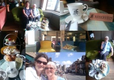 Arriving at Canterbury - Afternoon Cream Tea at The Falstaff Inn, Canterbury