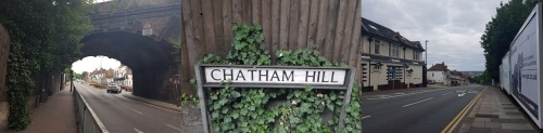 Chatham - first town on the Rochester to Faversham section