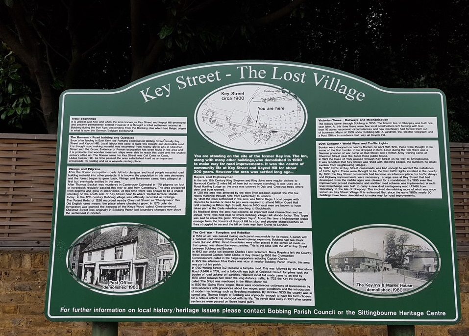 day 3 rochester to faversham Key Street - The Lost Village