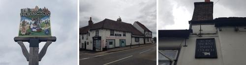 day 3 rochester to faversham - newington