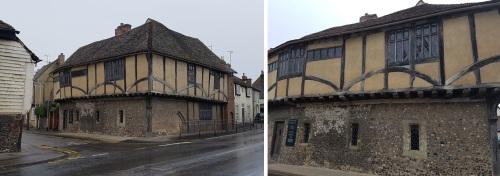 Maison Dieu, Ospringe - Day 3 Rochester to Faversham