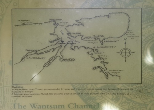The Isle of Thanet and the Wantsum Channel.
