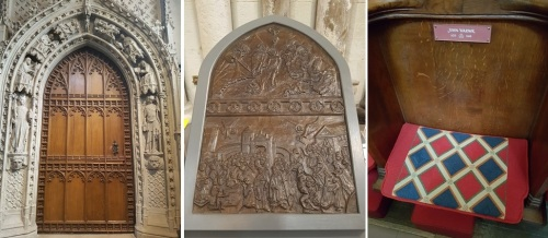 snippets of history inside Rochester Cathedral