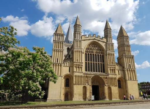 Rochester Cathedral; 2nd oldest cathedral in England