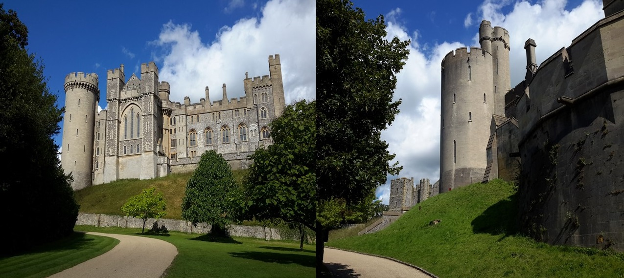 Arundel Castle, West Sussex - home to the Dukes of Norfolk and Earls of Arundel