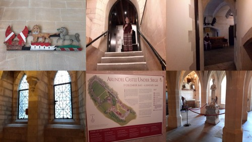 a peek inside Arundel Castle