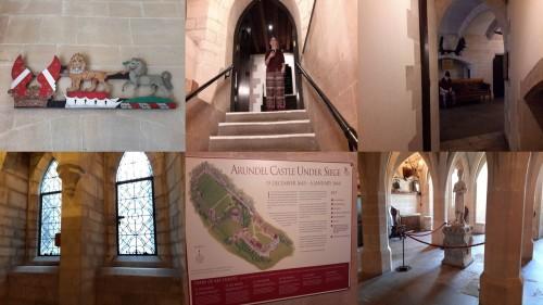 a peek inside Arundel Castle
