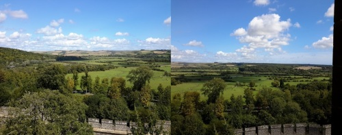 views across West Sussex from the Norman Keep of Arundel CAstle