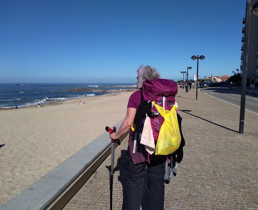 portuguese coastal route from porto to santiago