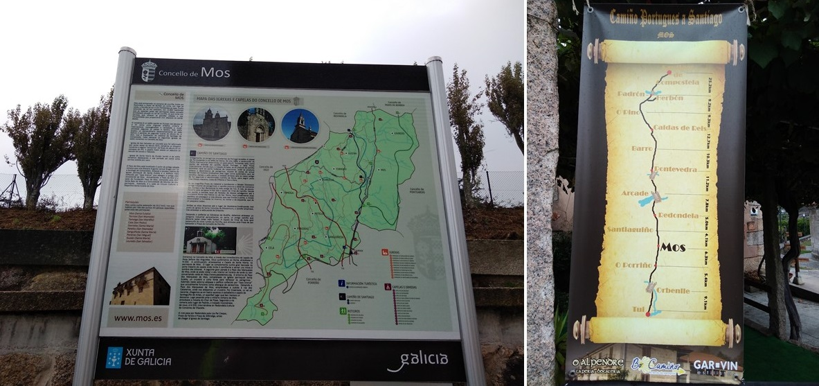 Camino de Santiago -portuguese route