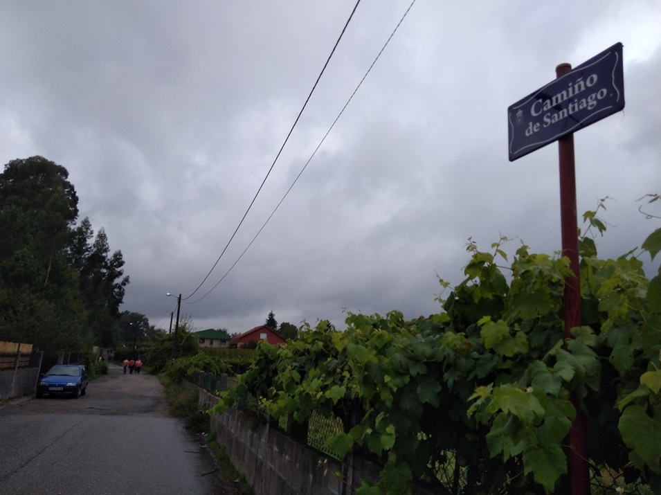 Camino de Santiago -portuguese coastal route