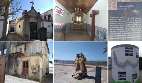camino de santiago, portuguese coastal route porto to santiago