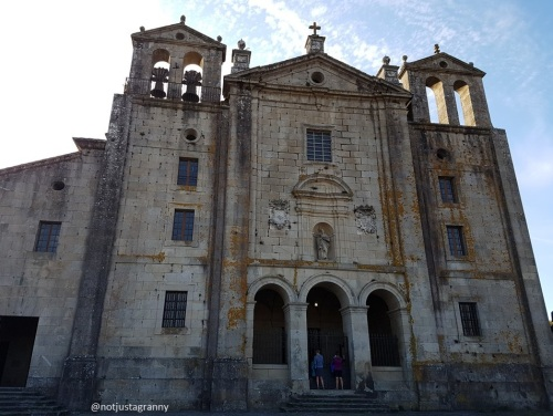 iglesia de santiago, padron galicia, camino de santiago, porto to santiago, portuguese camino, following the way of st james, pilgrimage to santiago