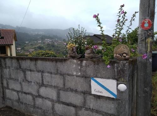 estrada de padron, camino de santiago, o porrino to arcade, walking the camino, portuguese coastal and central route,