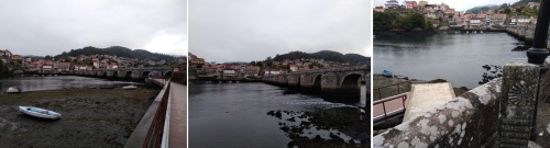 ponte sampaio in arcade spain, camino de santiago, porto to santiago, portuguese coastal route, portuguese central way, tui to santiago, pilgrimage to santiago, solo women on the camino, camino for women over 60, baby boomers travel, walk 1000 miles