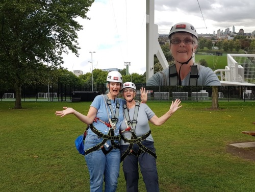 zip lining with zip world in london