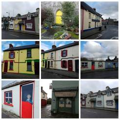 Colourful houses in Trim, Ireland. #architecture #Trim #CountyMeath #ireland?? #islands #traveldiaries #CindysTravels