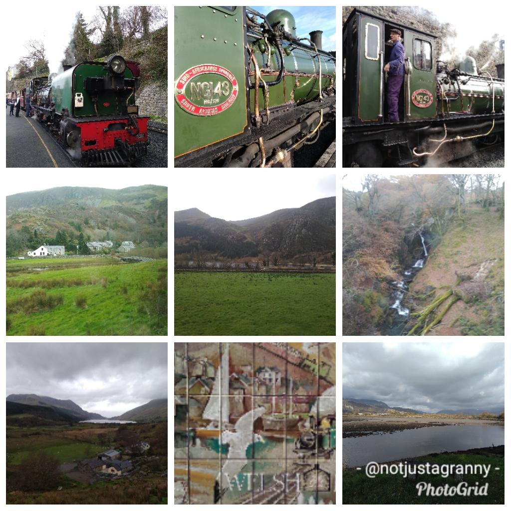 Ffenistogg Railway line Caenarfon to Porthmadogg, Wales