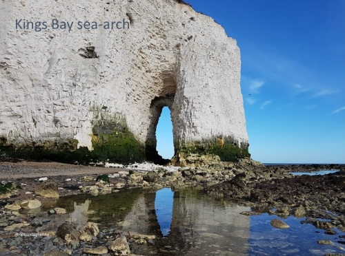 Kings Bay sea-arch
