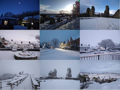 Snow in Wales