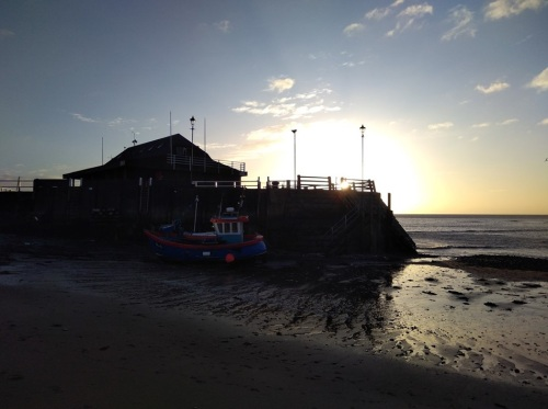 walk 1000 miles, winter walks, sunrise, broadstairs, capturing britain