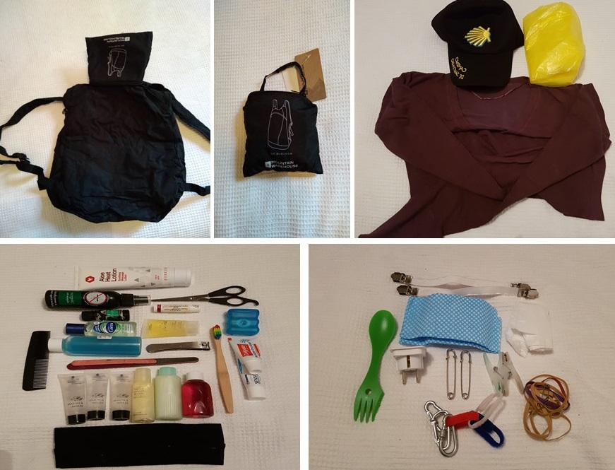 packing for pilgrimage, long distance walks uk, packing for the camino,