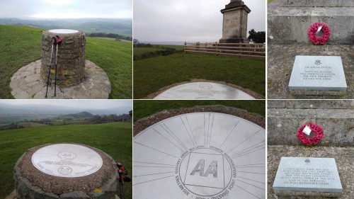 welsh countryside, war memorial montgomery, places to see in wales,