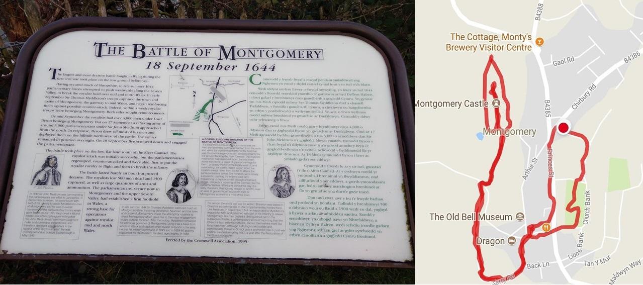 map my walk, montgomery castle powys wales, castles of the uk, castle ruins, welsh castles, walk 1000 miles, travel diaries, walks in the uk, country walking,