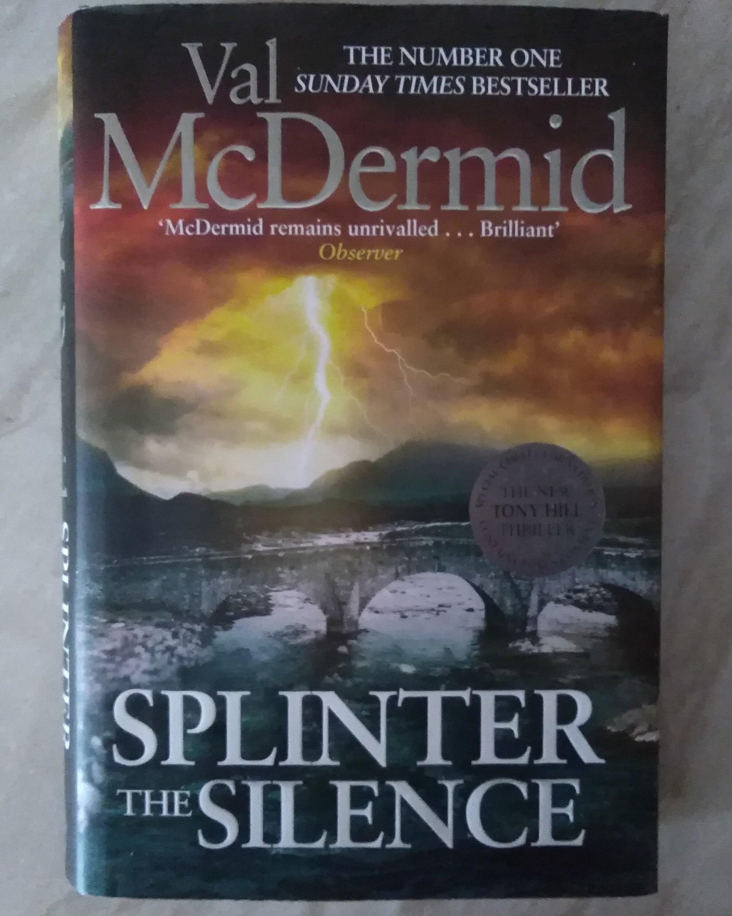 national book day, val mcdermid, splinter the silence, tony hill