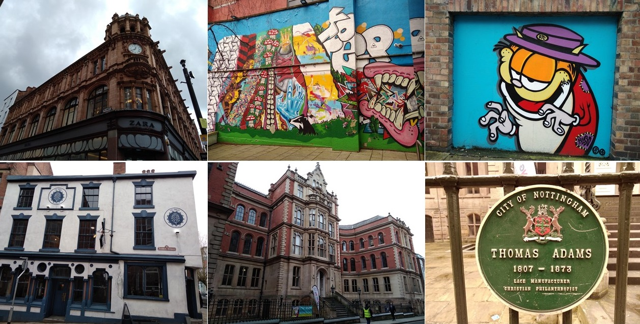 nottingham, robin hood, cities of england, domesday book, project 101, explore nottingham, visit nottingham, what to see in nottingham, lace market