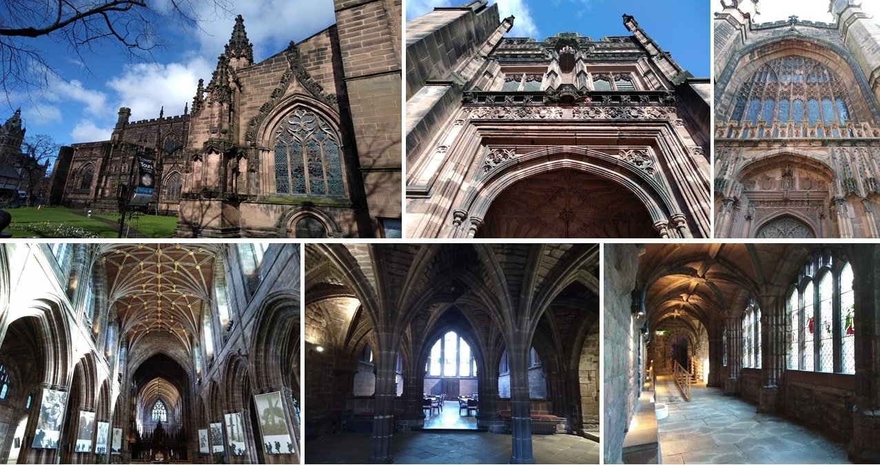 chester, roman fort, chesters clock, roman city walls chester, explore chester, things to do in chester, chester high cross, britains oldest shopping arcade. black and white buildings of chester, chester cathedral, domesday book town