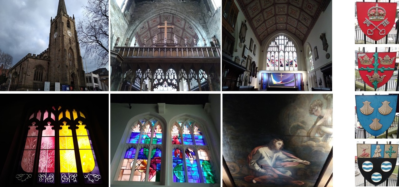 nottingham, the Church of St Peter with St James, robin hood, cities of england, domesday book, project 101, explore nottingham, visit nottingham, what to see in nottingham