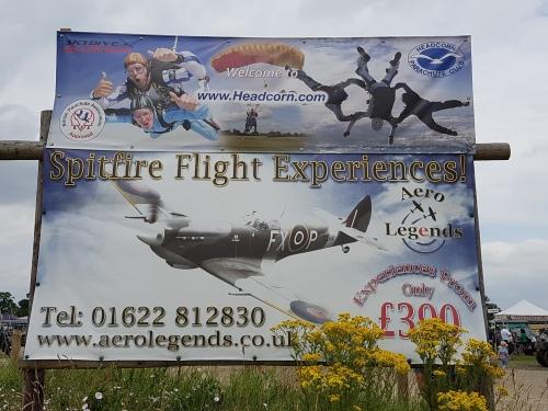 spitfire flights, battle of britain headcorn, biggin hill battle of britain