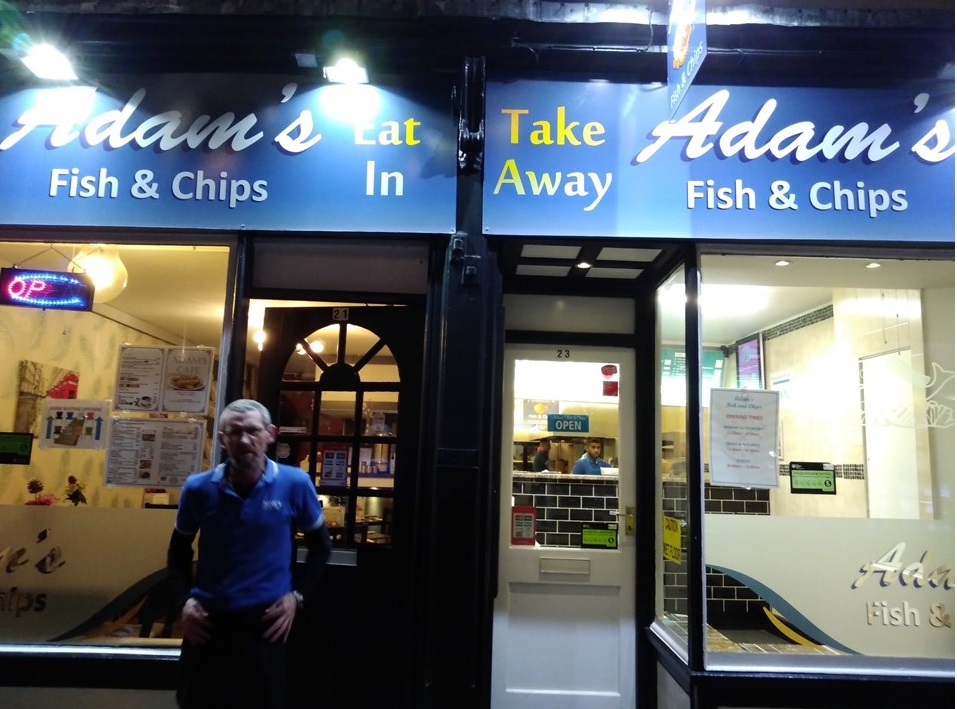 Adam's Fish and Chips Chester