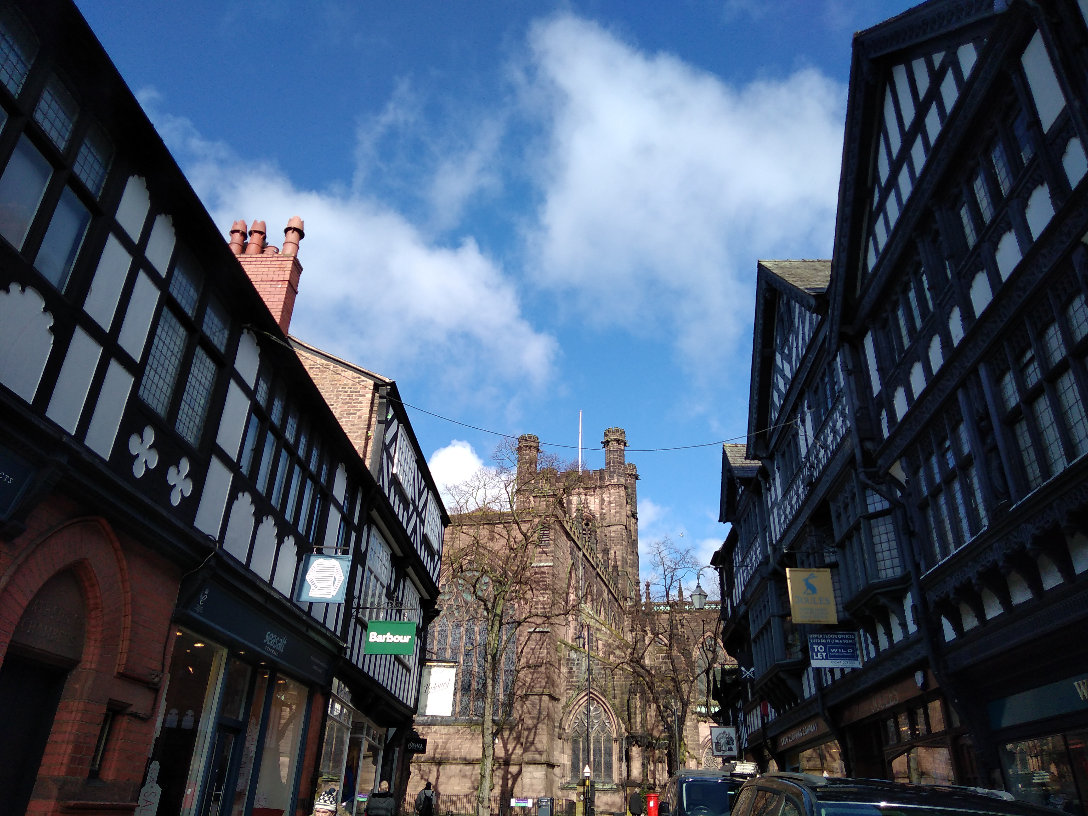 chester cathedral, explore chester, walled cities, roman cities, explore england, historic england, black and white architecture,